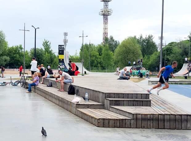 В Ижевском Сети парке появился пост полиции