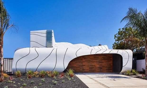 Архитекторский проект дизайнера Mario Romano.