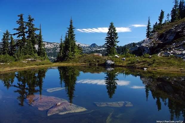 США: Озера и водопады долины рекиФосс