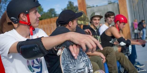 В сквере по Олонецкому открыли скейт-сезон