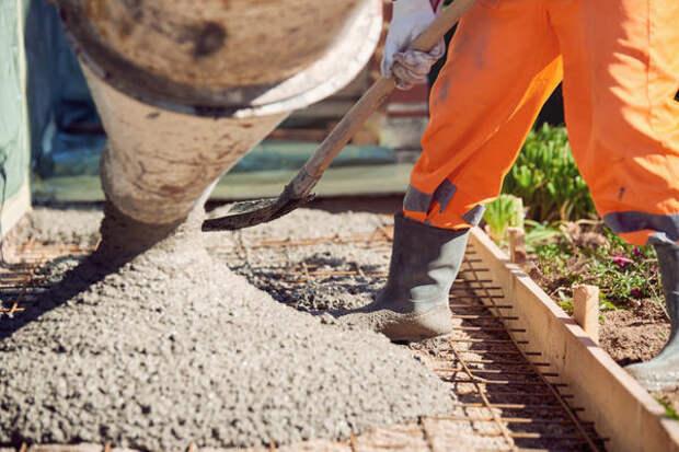 Для отмостки используют марки бетона для дорожных работ