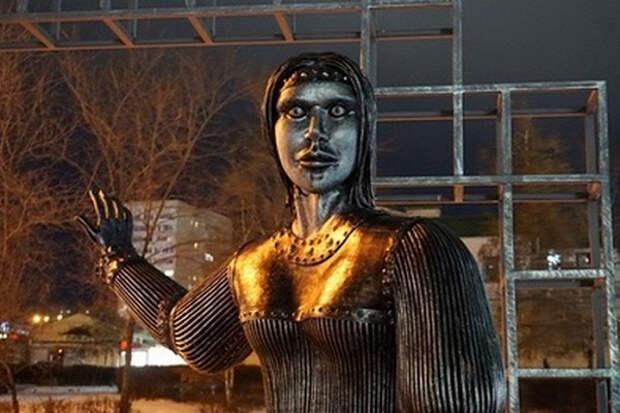 «Символизирует уходящий 2020 год»: Разин решил выкупить памятник Аленке