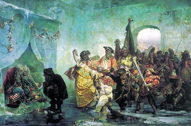 Валерий Якоби, Ледяной дом, 1878 г.