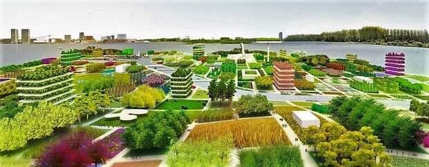 Крапивинский гидроузел и мечта о городе-саде
