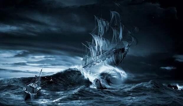 Тайны морей. Корабли-призраки и призраки кораблей