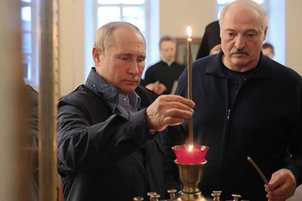 Александр Лукашенко сделал Владимиру Путину предложение по интеграции, будучи на Вааламе