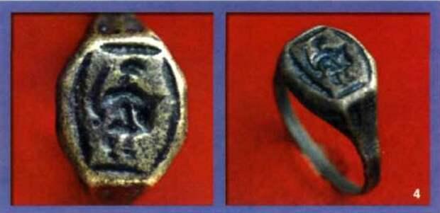 древнерусский перстень