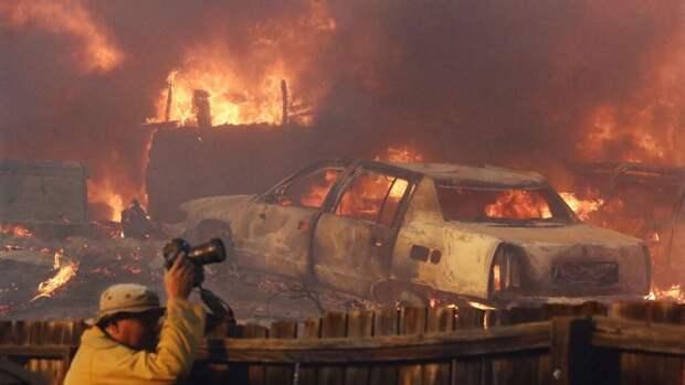 Западное побережье США охвачено пожарами