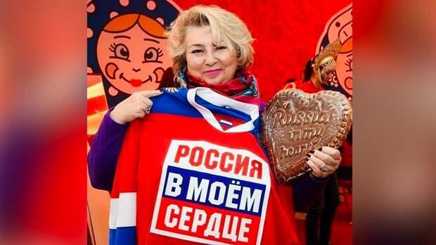 «Россия вмоем сердце». Тарасова поздравила соотечественников сДнем России