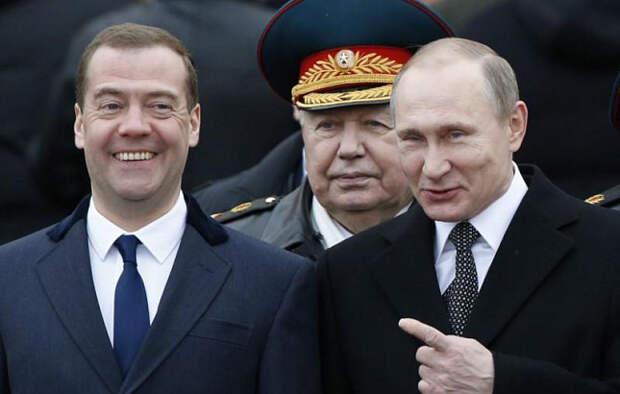 Зарплата Путина в разы меньше, чем у других президентов из-за Медведева