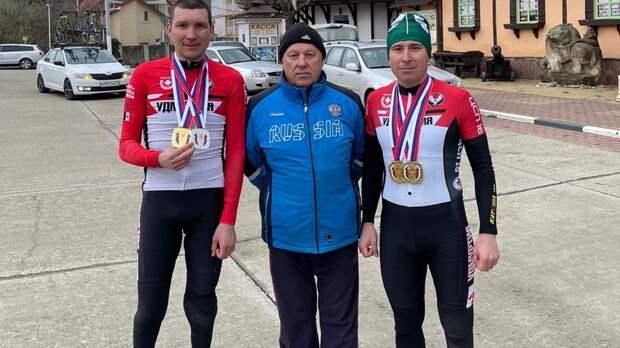 Пара-велогонщики изУдмуртии выиграли четыре медали начемпионате России