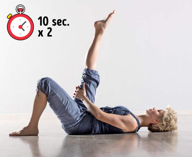 7 упражнений, которые помогут облегчить боль в спине за 10 минут