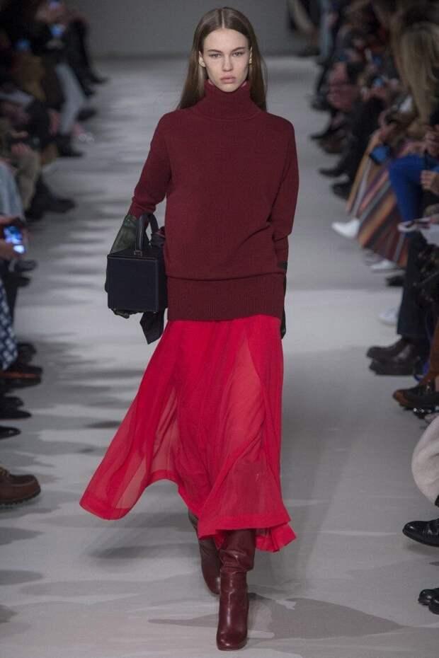 Сексуально красный- 5 вариантов, как носить и не выглядеть нелепо?