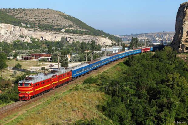 В Крым запускают поезд по новому маршруту