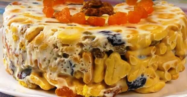 Вкусный и полезный десерт, который готовится несколько минут