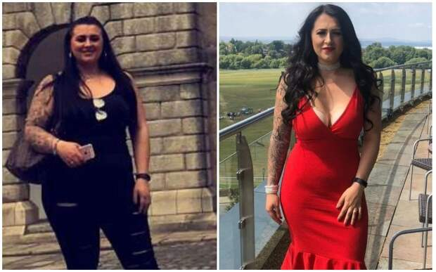 Девушка похудела на 32 кг и отшила парня, который раньше не захотел продолжать отношения из-завеса
