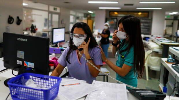 В Аргентине за сутки зафиксировали более 24 тысяч случаев COVID-19