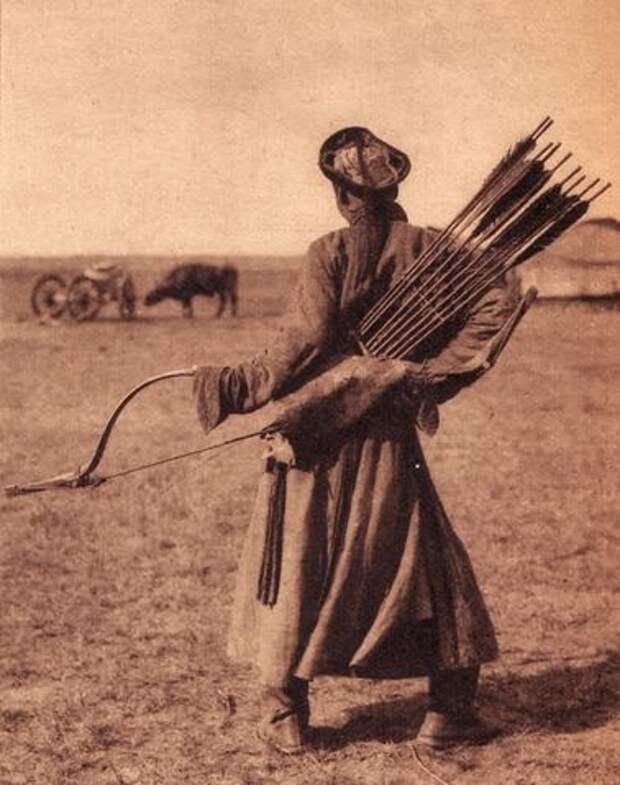 Монголы и монгольский лук.