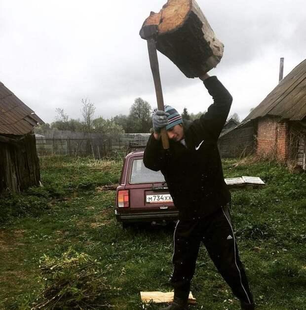 Колоритные фото из деревень