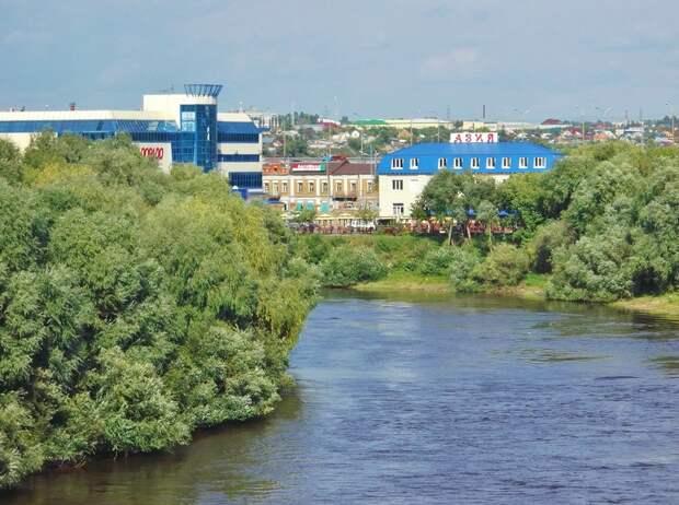 Город на слиянии двух рек... ОМСК