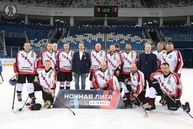 """ХК """"Тамбов-1636"""" вошёл в четвёрку лучших команд фестиваля Ночной хоккейной лиги"""