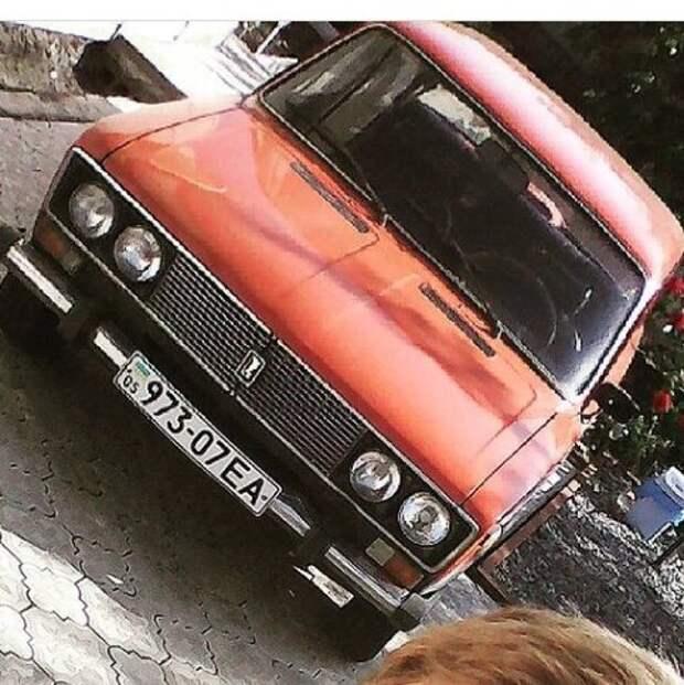 Дедушка купил машину «за уклейку»