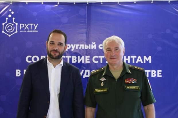 Андрей Картаполов и Александр Мажуга обсудили меры поддержки выпускников в трудоустройстве