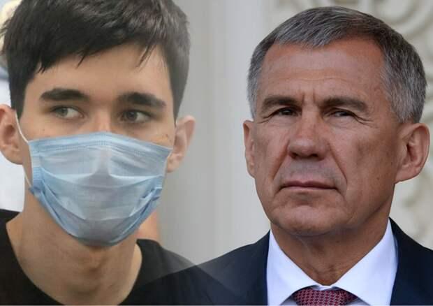 Глава Татарстана призвал не делать героя из Галявиева