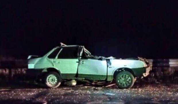 Водитель уснул: один человек погиб и двое пострадали в ДТП под Волгоградом