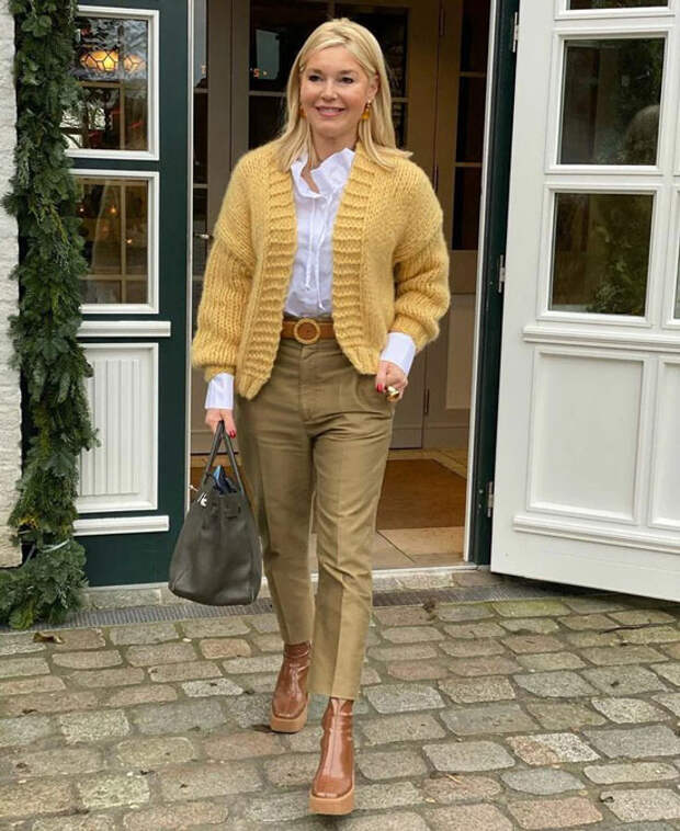 Как женщинам 50 лет одеваться весною 2021, чтобы выглядеть элегантно и стильно