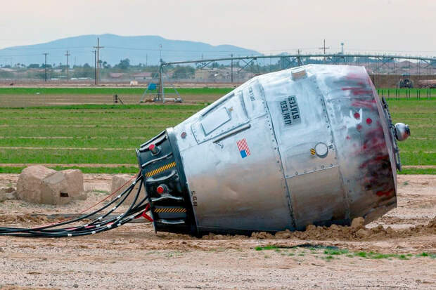 Хьюстон, у нас проблема: в Аризоне обнаружили загадочную «космическую капсулу»