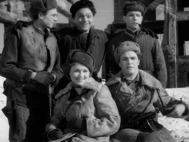 кадр из фильма «Солдаты», 1956 год
