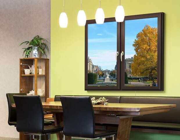 Виртуальное окно — это дополненная реальность в вашем интерьере. / Фото: okna.ru