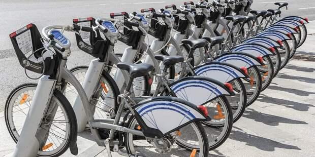В Москве продлили работу велопроката