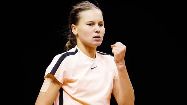 Кудерметова победила Мертенс и сыграет с Гарсией во 2-м круге турнира в Риме