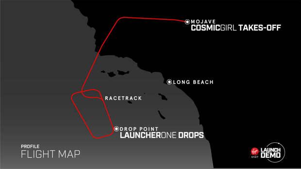 Первый запуск ракеты-носителя LauncherOne с самолета закончился неудачей