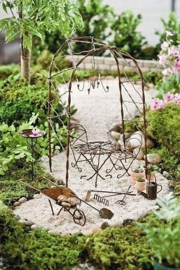 Идеи садов в миниатюре: идеи для творчества