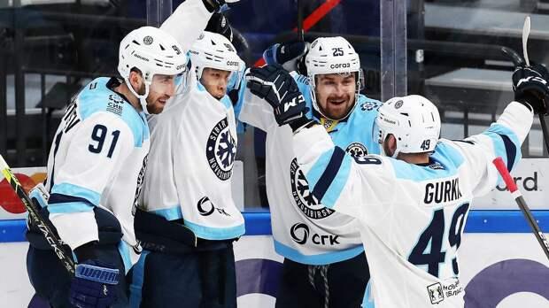 «Сибирь» победила «Амур» во втором матче подряд регулярного чемпионата КХЛ