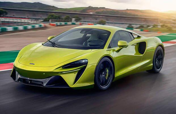 Новые McLaren могут назвать Solus, Aeron и Aonic