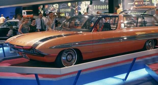 Ford Aurora — удивительный универсал для всей семьи из 60-х