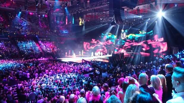 Россия стала второй в рейтинге участников Евровидения с 1994 года