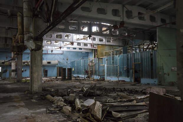 Тайны завода «Юпитер» в Чернобыле.