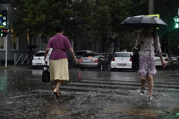 На Кубани объявили экстренное предупреждение по ливням