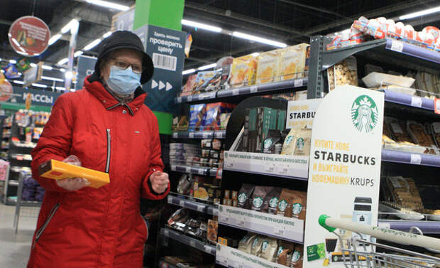 Российские цены на продукты дорожают в пять раз быстрее европейских