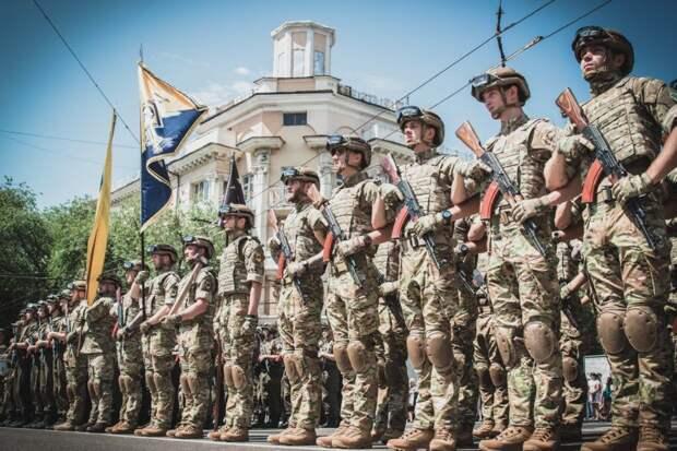 Свидетели рассказали о захвате 9 мая «Азовом» милиционеров в Мариуполе