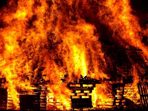 Три человека стали жертвами пожаров в Подмосковье