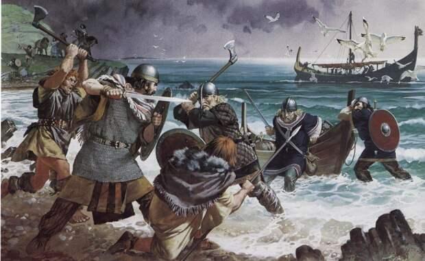 Рагнар Лодброк – легендарный датский персонаж скандинавских саг