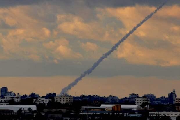 Одна ракета выпущена из сектора Газа по Израилю
