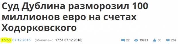 Ходорковский готовит «Информационный» Апокалипсис