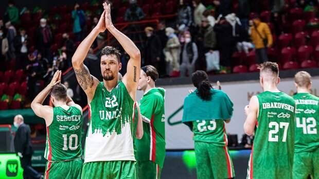 УНИКС победил «Локомотив-Кубань» во втором матче полуфинала Единой лиги ВТБ